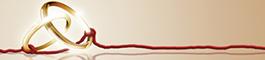 赤い糸と結婚指輪